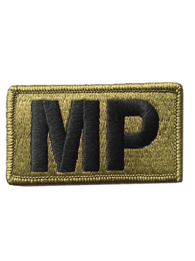 MP BRASSARD MultiCam OCP PATCH WITH FASTENER