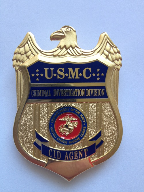 NEW!! RETIRED ARMY CID AGENT BADGE