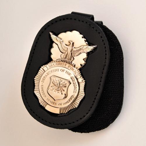 USAF SP Badge Belt Clip Holder - BADGE INCLUDED! [USAFCLIPWB