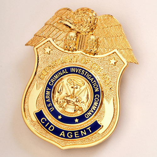 Replica ARMY CID AGENT BADGE
