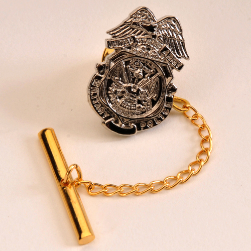 ARMY MP BADGE TIE TAC