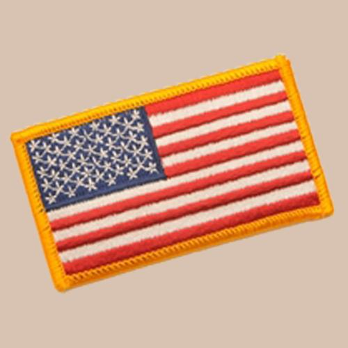 U.S. FLAG PATCH -Full Color - Forward Facing -