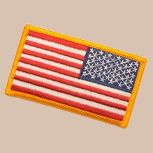 U.S. FLAG PATCH - Full Color - Reversed
